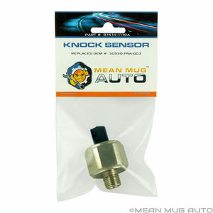 81514-1119A Knock Sensor - For: Honda, Acura - Replaces OEM #: 30530-PNA-003, 30530-PPL-A01, 1580917, 5S2320, KS197 - Mean Mug Auto