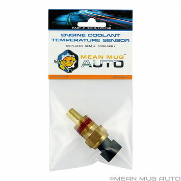 3818-32019B Engine Coolant Temperature Sensor - For: Chrysler, Dodge, Jeep, Plymouth, Mitsubishi - Replaces OEM #: 33004281 - Mean Mug Auto