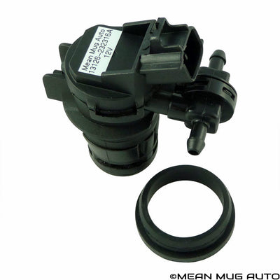 13126-232316A Windshield Washer Pump w/ Grommet - For: Honda, Lexus, Mazda, Toyota - Replaces OEM #: BBP167482 - Mean Mug Auto