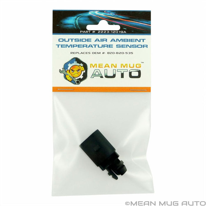 2223-12019A Outside Air Ambient Temperature Sensor - For: Audi, Volkswagen - Replaces OEM #: 8Z0820535 - Mean Mug Auto