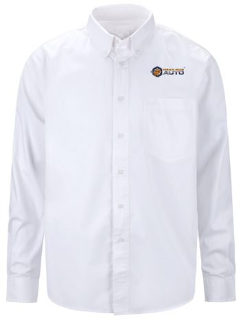Mean Mug Auto Button Down Shirt - Mean Mug Auto