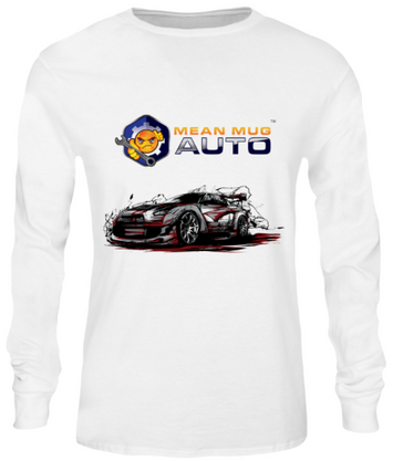 Mean Mug Auto Long Sleeve Shirt - Mean Mug Auto