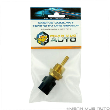 13920-32019A Engine Coolant Temperature Sensor - For: Mitsubishi, Chrysler, Dodge - Replaces OEM #: MD177572, MD182467, 1580487, 2132761, 3922035710 - Mean Mug Auto