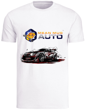 Mean Mug Auto Short Sleeve Shirt - Mean Mug Auto