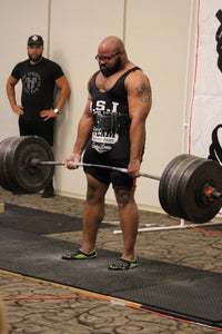 Former Football Player - Competitive Powerlifter Adds Herbstrong to Regimen!