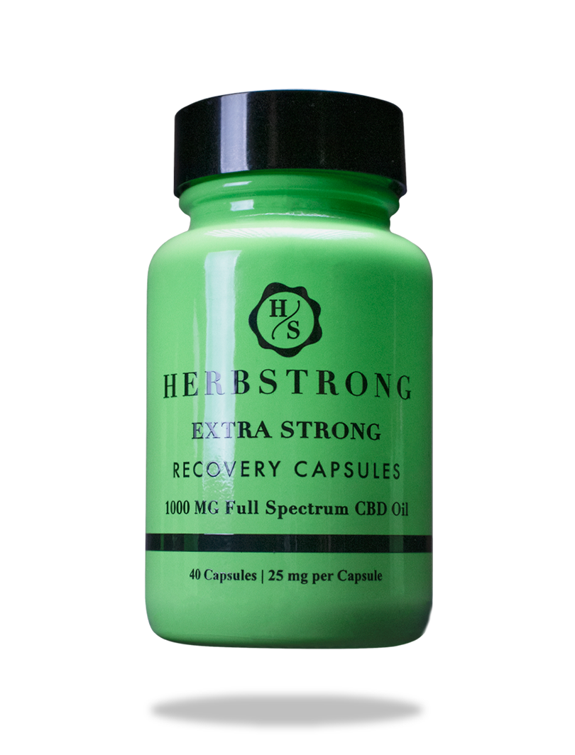 Extra Strong Recovery CBD Capsules