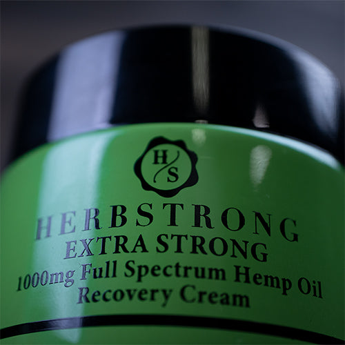 Extra Strong CBD Recovery Cream