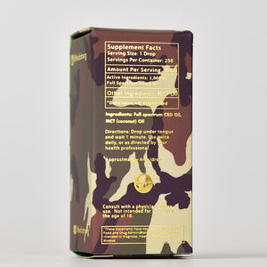 50% OFF | Military Special Edition Recovery Drops - 1000mg
