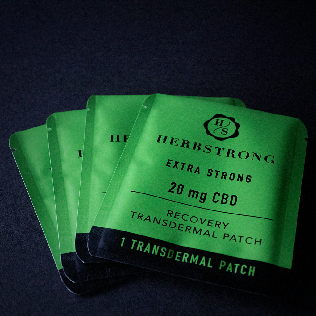 Transdermal CBD Recovery Patches