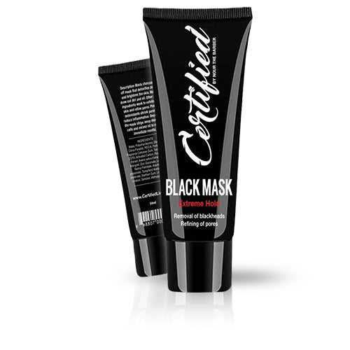 BLACK PEEL OFF MASK 50ML (EXTREME HOLD)