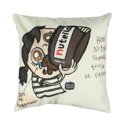 Coussin Nutella