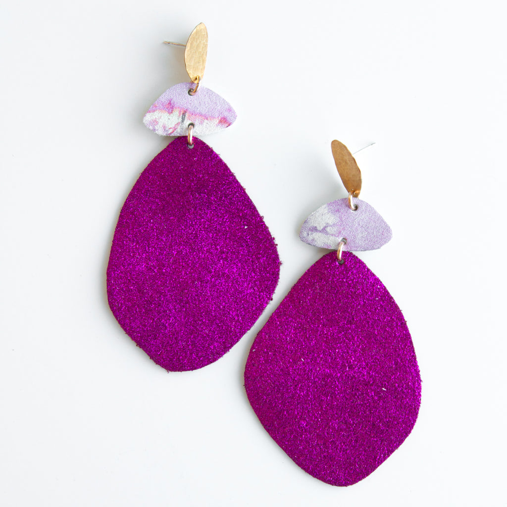 Cuero Earrings #13