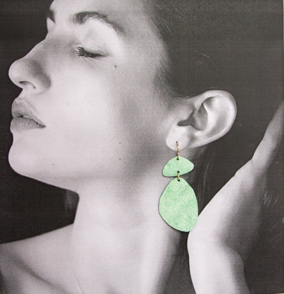 Cuero Earrings #2