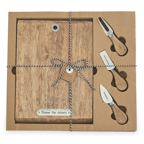 CHEESE BOARD AND KNIFE SET  20