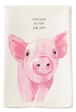 PIG FARM TOWEL