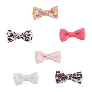LEOPARD BITTY BOWS S21