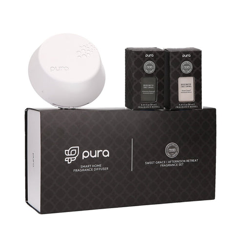 PURA BRIDGEWATER SMART HOME DIFFUSER ST W SWEET GRACE & AFTERNOON RETREAT