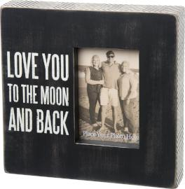 Box Frame- Love You To The Moon And Back