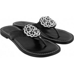 BRIGHTON ALICE SANDALS BLACK BUFFALO