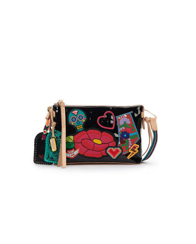 TEENY CROSSBODY POPPY BLACK S20