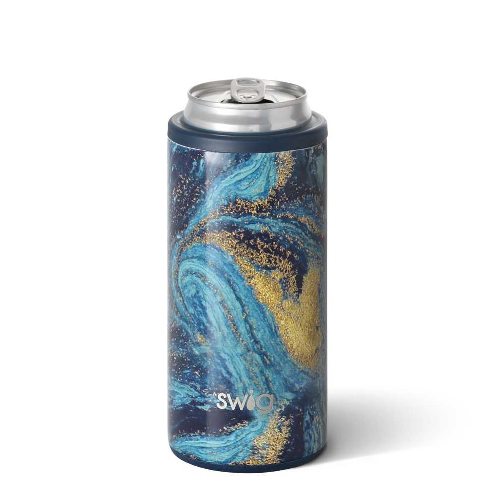 SWIG 12OZ SKINNY CAN COOLER STARRY NIGHT F20
