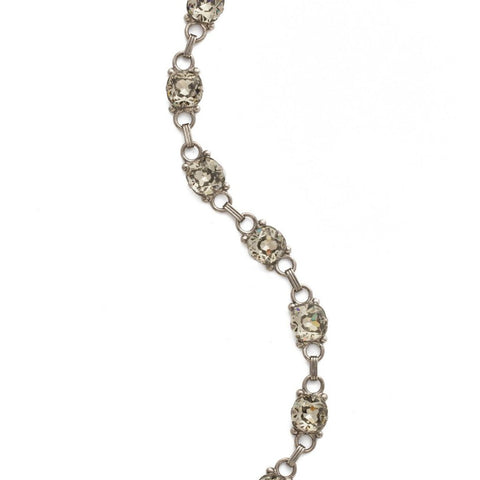 Sorrelli Eyelet Line Bracelet in Antique Silver-tone finish
