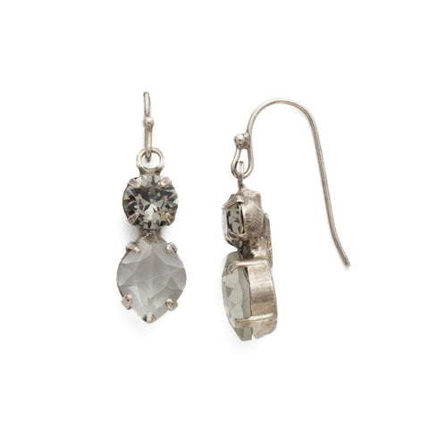 Sorrelli Majestic Marquise Earring in Antique Silver-tone finish