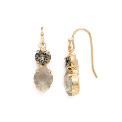 Sorrelli Majestic Marquise Earring in Bright Gold-Tone Finish