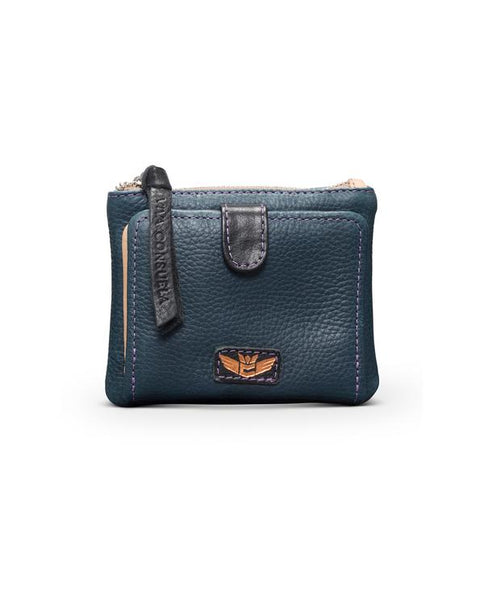TEENY SLIM WALLET ADELITA NAVY