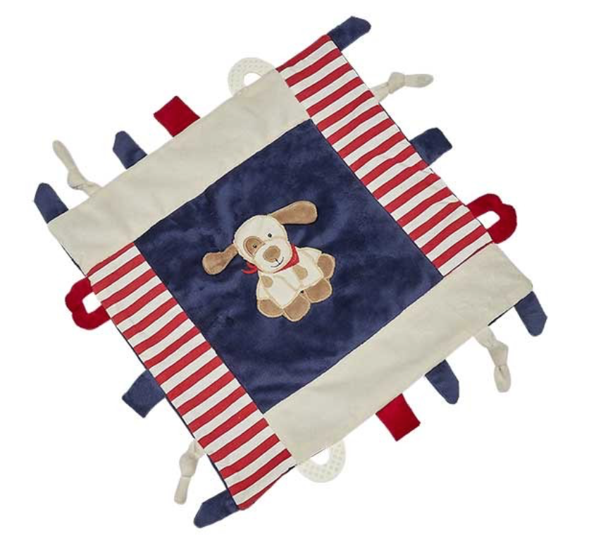 MAX THE PUPPY MULTIFUNCTION BLANKIE F20