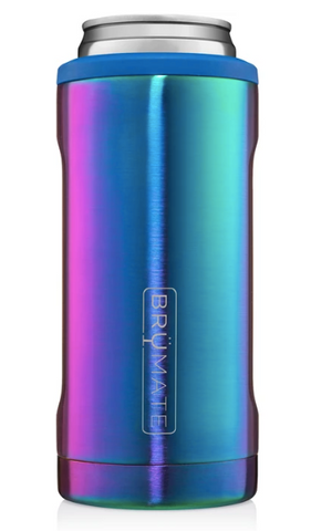 HOPSULATOR 12OZ SLIM CAN RAINBOW TITANIUM