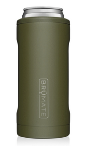 HOPSULATOR 12OZ SLIM CAN OD GREEN