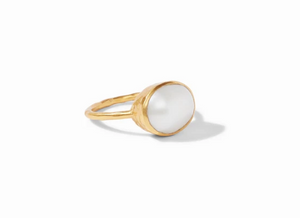 HONEY STACKING RING PEARL 6