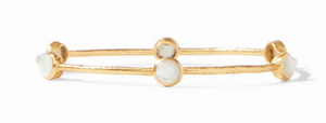 MILANO BANGLE GOLD MOTHER OF PEARL SMALL