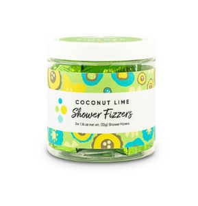 SHOWER FIZZERS COCONUT LIME F20