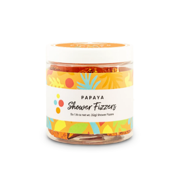 SHOWER FIZZERS PAPAYA F20