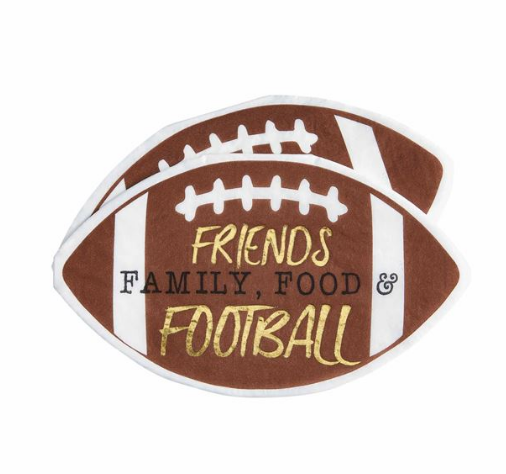 FRIENDS GAME DAY PAPER NAPKINS