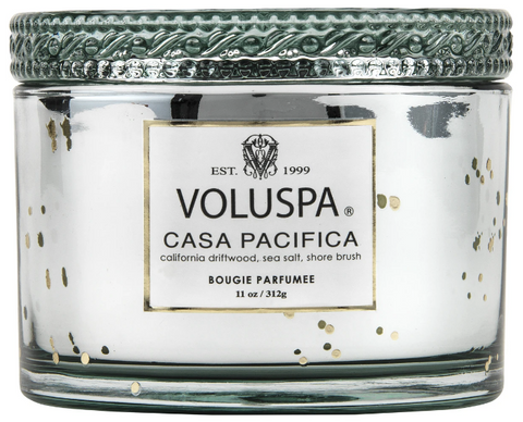 CASA PACIFICA CORTA MAISON GLASS CANDLE W LID BOXED