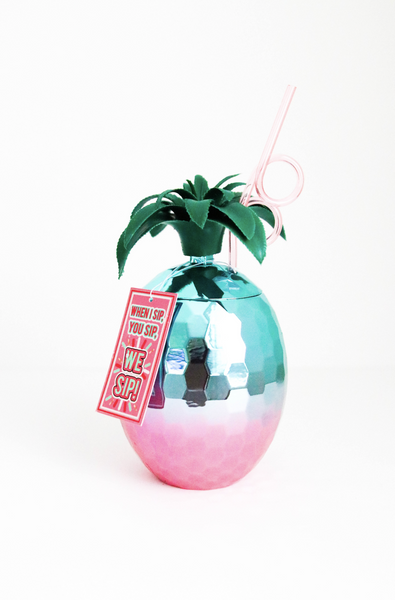 HOLOGRAPHIC PINEAPPLE CUP S20