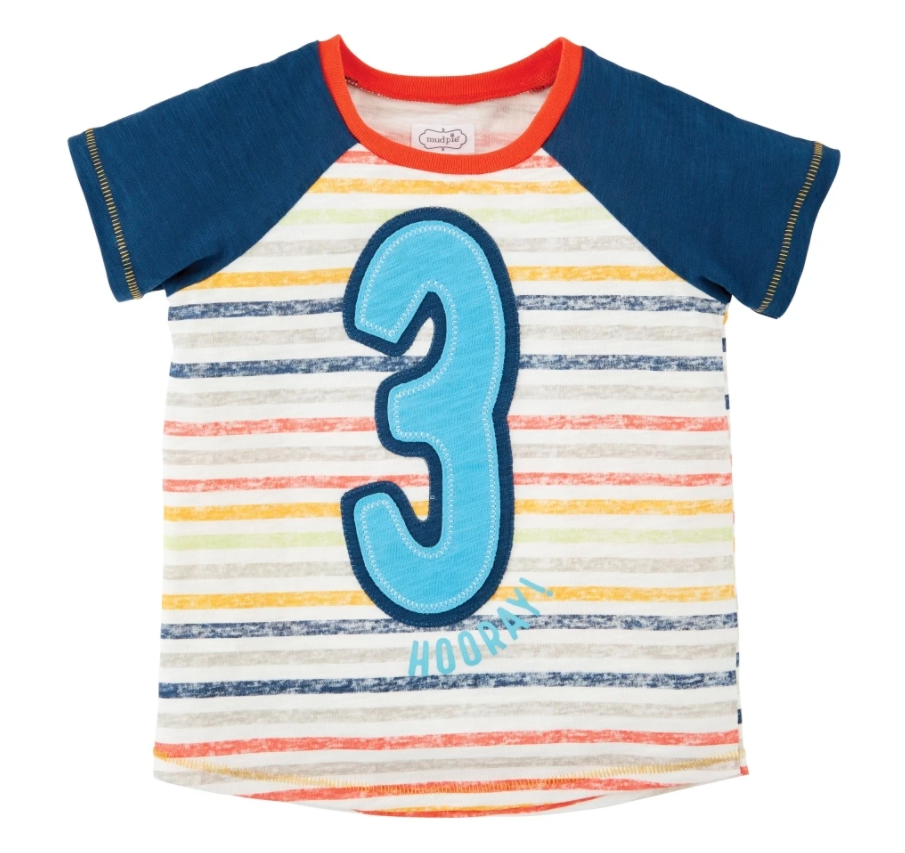BOY THREE BIRTHDAY SHIRT S21