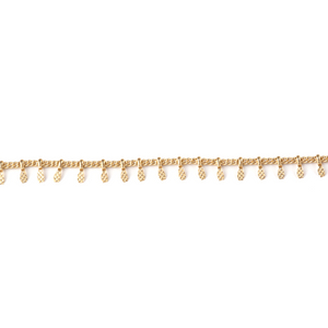 Demeiza Boo Chain Minimal Necklace in Gold