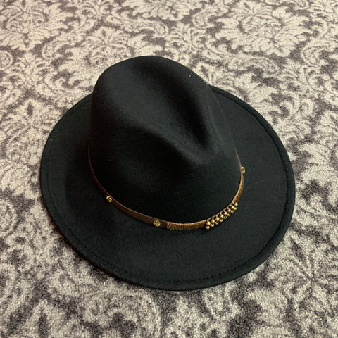 FEDORA HAT BLACK F20