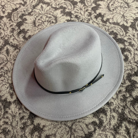 FEDORA HAT GREY F20
