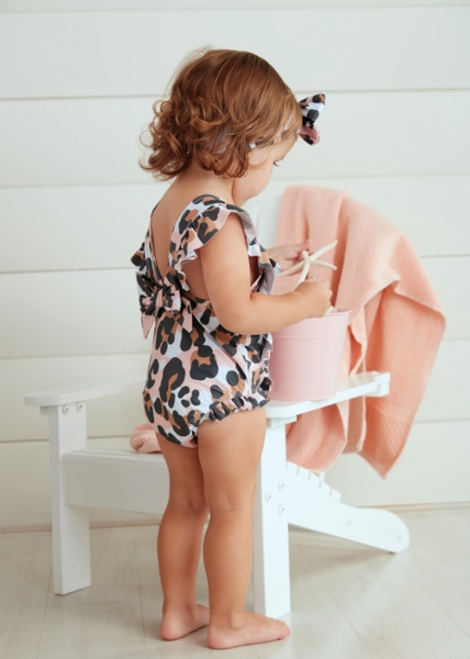 LEOPARD SWIMSUIT AND HB 9 MONTHS