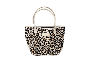 Jon Hart Medium Holiday Tote Leopard F20