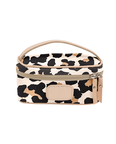 Jon Hart Mini Makeup Case Leopard F20