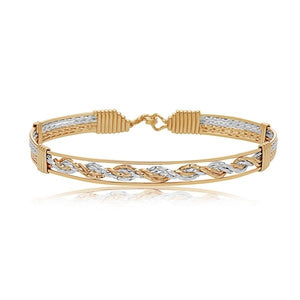 RONALDO BRACELET ONE MORE CHANCE 14K GOLD/SILVER