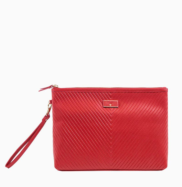 Getaway Large Makeup Case - Red