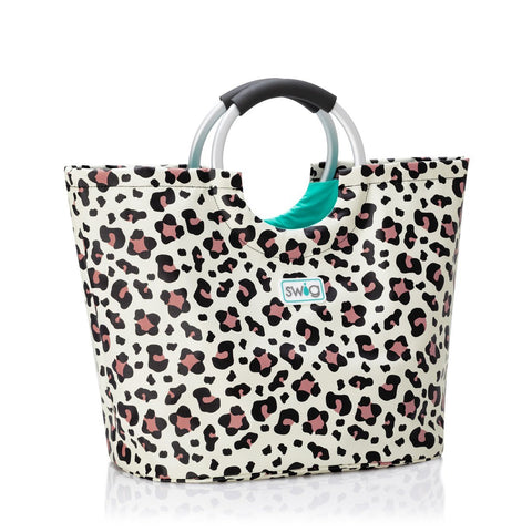 LOOPI TOTE BAG LUXY LEOPARD