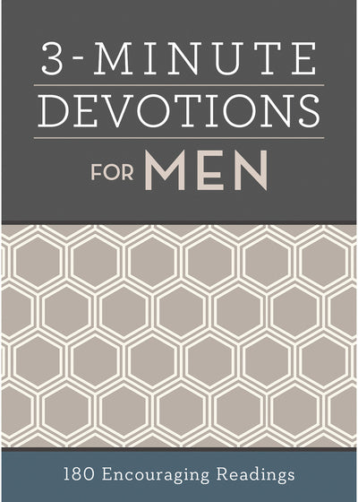 3 - Minute Devotions for Men